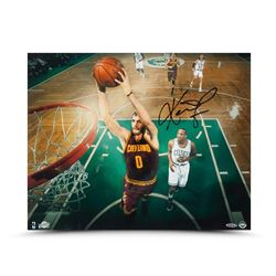 Kevin Love Signed Cavaliers Fast Break Jam 16x20 Photo (UDA COA)