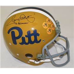 "Tony Dorsett Signed Pittsburgh Panthers Full-Size TK Suspension Helmet Inscribed ""76 Heisman"" (Radtk"