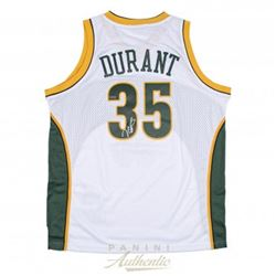 Kevin Durant Signed Supersonics Authentic Swingman Jersey (Panini COA)