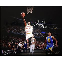 "Kyrie Irving Signed LE Cavaliers ""Finish"" NBA Finals 16x20 Photo (Panini COA)"