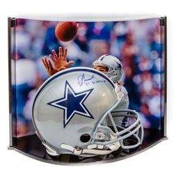 "Jay Novacek Signed LE Cowboys Full-Size Authentic Pro-Line Helmet Inscribed ""3X SB Champs"" With Cust"