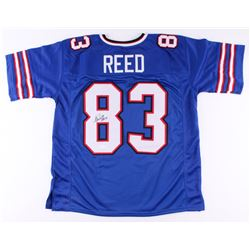 "Andre Reed Signed Bills Jersey Inscribed ""HOF 14"" (JSA COA)"