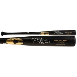 "Kris Bryant Signed Chandler Player Model KB17 Maple Baseball Bat Inscribed ""2016 NL MVP"" (MLB)"