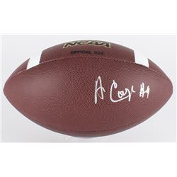 Amari Cooper Signed Wilson NCAA Football (PSA COA)