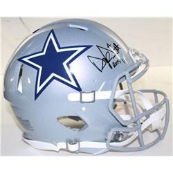 "Dak Prescott Signed LE Cowboys Full-Size Authentic Pro-Line Speed Helmet Inscribed ""ROTY 16"" (Steine"