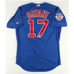 Kris Bryant Signed Cubs Majestic Authentic 2016 World Series Jersey (MLB  Fanatics)