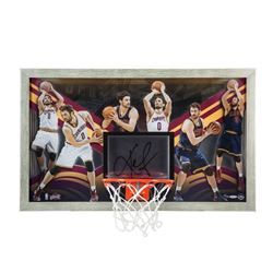 "Kevin Love Signed Cavaliers ""All-Around Gamer"" LE 18"" x 30"" Custom Framed Backboard Display (UDA COA"