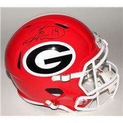Hines Ward Signed Georgia Bulldogs Full-Size Speed Helmet (JSA COA)