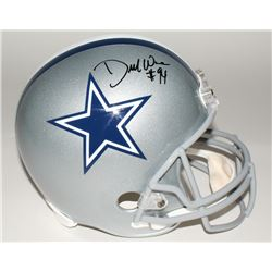 DeMarcus Ware Signed Cowboys Full-Size Helmet (Beckett COA)