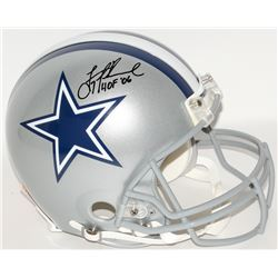 "Troy Aikman Signed Cowboys Full-Size Authentic Helmet Inscribed ""HOF '06"" (Aikman Hologram)"