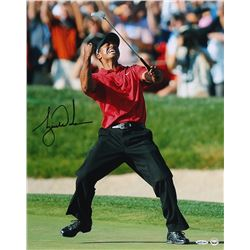 "Tiger Woods Signed ""2008 US Open"" 16x20 Photo (UDA COA)"