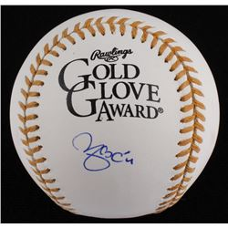 Yadier Molina Signed Official Gold Glove Award Baseball (JSA COA)