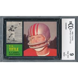 1962 Topps #102 Y.A.Tittle (BCCG 9)