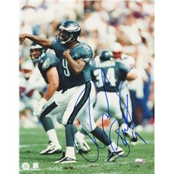 Rodney Peete Signed Eagles 8x10 Photo (FSC COA)