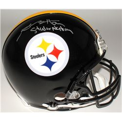 "Antonio Brown Signed LE Steelers Full-Size Authentic Helmet Inscribed ""Steeler Nation"" (Steiner COA)"