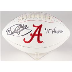 "Derrick Henry Signed Alabama Crimson Tide Logo Football Inscribed ""'15 Heisman"" (Henry Hologram)"