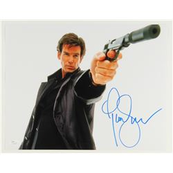 Pierce Brosnan Signed James Bond 11x14 Photo (JSA COA)