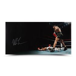 """Mike Tyson Signed """"Knockout"""" 36x18 Limited Edition Photo (UDA)"""