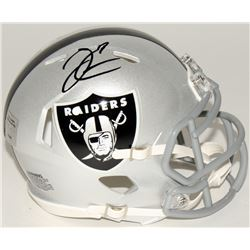 Derek Carr Signed Raiders Speed Mini-Helmet (Radtke COA)