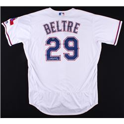 Adrian Beltre Signed Rangers Majestic Authentic Jersey (MLB Hologram)