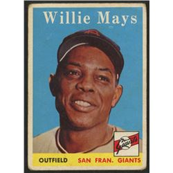1958 Topps #5 Willie Mays
