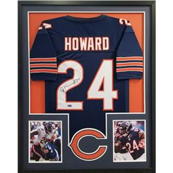 Jordan Howard Signed Bears 34x42 Custom Framed Jersey (Radtke COA)