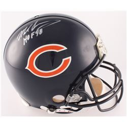 "Mike Singletary Signed Bears Full-Size Authentic On-Field Helmet Inscribed ""HOF 98"" (JSA COA)"