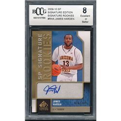 2009-10 SP Signature Edition Signature Rookies #RHA James Harden #026/199 (BCCG 8)