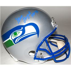"Steve Largent Signed Seahawks Full-Size Helmet Inscribed ""HOF 95"" (Radtke COA)"