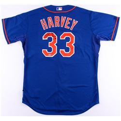 Matt Harvey Signed Mets Jersey (Steiner COA  MLB)