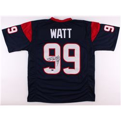 J. J. Watt Signed Texans Jersey (JSA COA  Watt Hologram)
