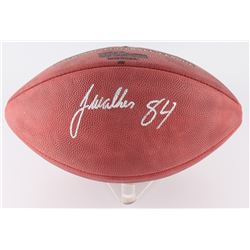 "Javon Walker Signed ""The Duke""  Official NFL Game Ball Inscribed ""Bucs"" (JSA COA)"