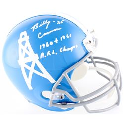 "Billy Cannon Signed Oilers Full-Size Throwback Helmet Inscribed ""1960 + 1961 A.F.L Champs"" (Radtke C"