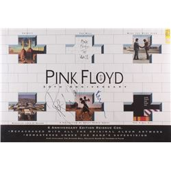 "Roger Waters  Nick Mason Signed ""Pink Floyd 30th Anniversary"" 24x36 Poster (JSA LOA)"