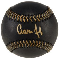 Aaron Judge Signed Black Leather Baseball (Fanatics  MLB)