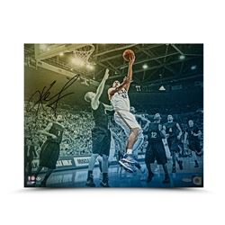 "Kevin Love Signed UCLA Bruins ""Westwood Colors"" 16x20 Photo (UDA)"