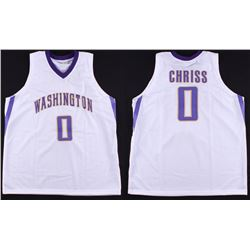 Marquese Chriss Washington Huskies Custom Stitched On-Court Style Jersey (Size XL)