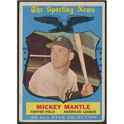 1959 Topps #564 Mickey Mantle AS