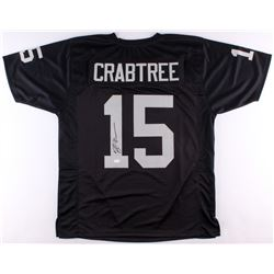 Michael Crabtree Signed Raiders Jersey (JSA)