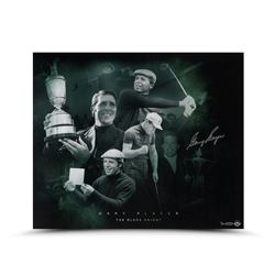 """Gary Player Signed """"Black Knight"""" 20x24 Limited Edition Photo (UDA)"""