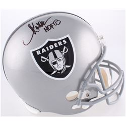 "Marcus Allen Signed Raiders Full-Size Helmet Inscribed ""HOF 03"" (Radtke COA  Allen Hologram)"