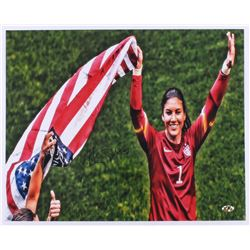 Hope Solo Signed Team USA 16x20 Photo (MAB)