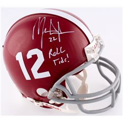 Mark Ingram Signed Alabama Mini-Helmet (Upper Deck COA  Ingram Hologram)
