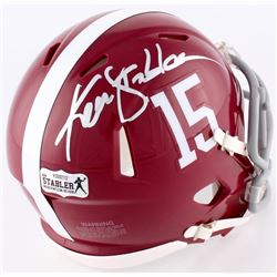Ken Stabler Signed Alabama Mini Speed Helmet (Radtke COA)