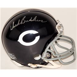 Dick Butkus Signed Bears Throwback Mini-Helmet (Schwartz COA)