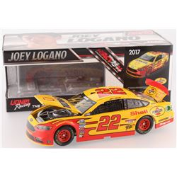 Joey Logano Signed NASCAR #22 Shell-Pennzoil 2017 Fusion 1:24 Limited Edition Premium Action Die Cas