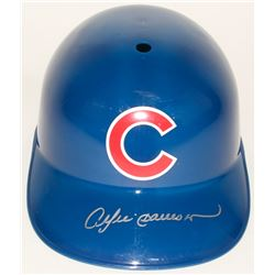 Andre Dawson Signed Cubs Replica Full-Size Batting Helmet (JSA COA)