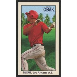 2010 TRISTAR Obak National Convention VIP Mini #N28 Mike Trout