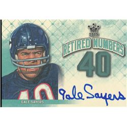 2015 Sportkings Retired Numbers Autographs #RNGS1 Gale Sayers