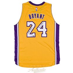 """Kobe Bryant Signed Limited Edition Lakers Adidas Authentic Swingman Jersey Inscribed """"33,643 PTS"""" (P"""